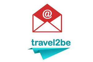 Contacter Travel2be par mail