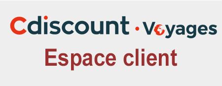 Espace client Cdiscount Voyages