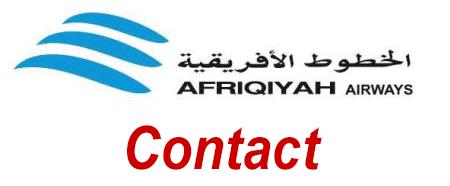 Comment contacter le service client Afriqiyah Airways ?